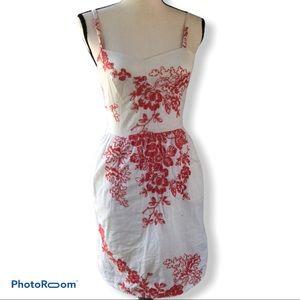 J. Crew   Embrodered Summer Dress